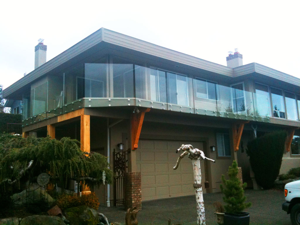 Picture Gallery Of Our Custom Glass Railings Interior