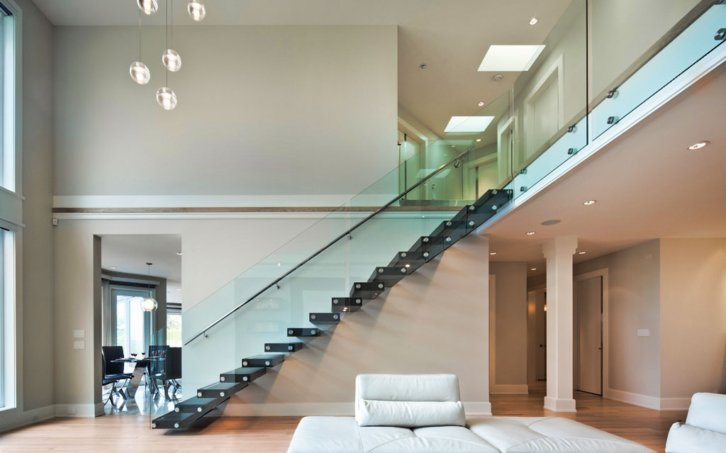 Picture gallery of our custom glass railings (Interior ...